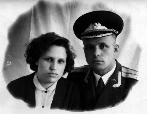 1959 г Шкурины Н.И. и Ю.В.